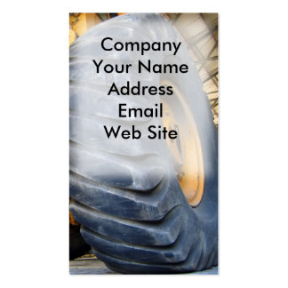 Large Industrial Tire Double-Sided Standard Business Cards (Pack Of 100)