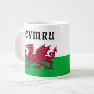 Large Jumbo Welsh Dragon Mug