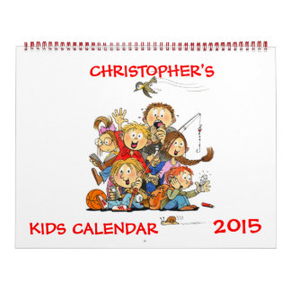 Large Kids Calendar 2015 Funny Calendar For Kids