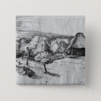 Large Landscape with a Tower, c.1650 Button