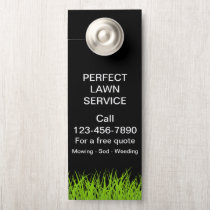 Large Lawn Service Promotional Door Hanger