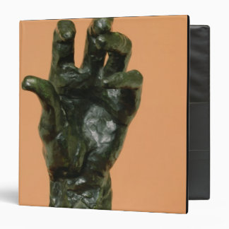 Large Left Hand (bronze) Binder