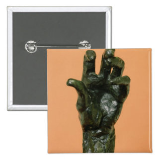 Large Left Hand (bronze) Button