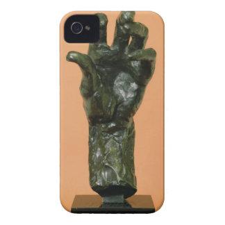 Large Left Hand (bronze) Case-Mate iPhone 4 Case