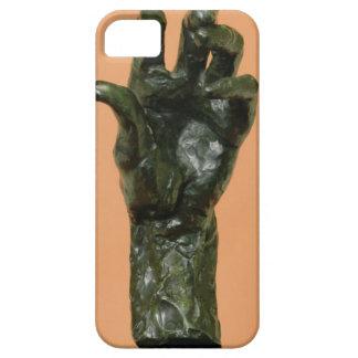 Large Left Hand (bronze) iPhone SE/5/5s Case