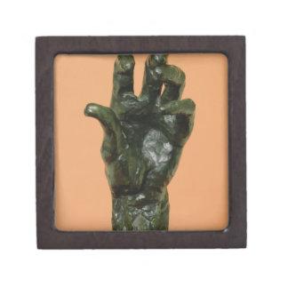 Large Left Hand (bronze) Keepsake Box