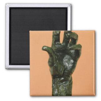 Large Left Hand (bronze) Magnet