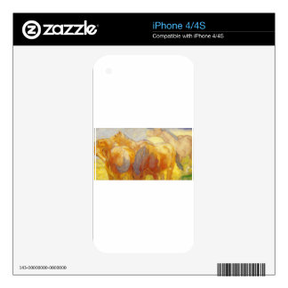 Large Lenggries Horses by Franz Marc Decals For iPhone 4S