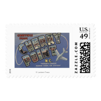 Large Letter Scenes - Cherry Point, NC Stamps