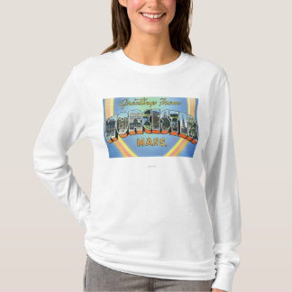 Large Letter Scenes - Greetings From 2 T-Shirt