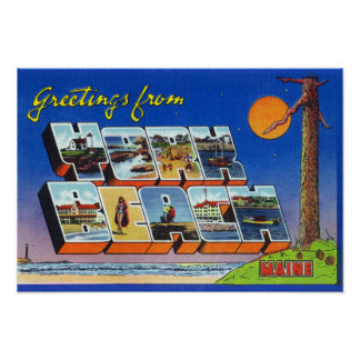 Large Letter Scenes, Greetings From 3 Poster