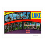Large Letter Scenes, Greetings From 4 Post Cards