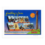 Large Letter Scenes, Greetings From Postcard