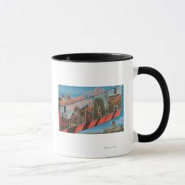 Large Letter Scenes - Monument Valley, UT Mug