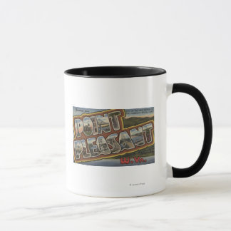 Large Letter Scenes - Point Pleasant, WV Mug