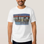 Large Letter Scenes - Wildwood-By-The-Sea, NJ Tshirt