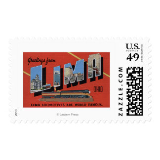 Large Letters - Lima Locomotives are World Postage Stamp
