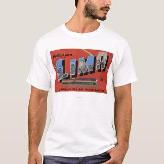 Large Letters - Lima Locomotives are World T-Shirt