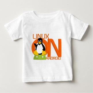 Large LinuxonAndroid logo Baby T-Shirt
