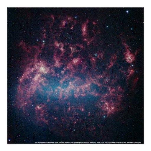 Large Magellanic Cloud 2 Poster