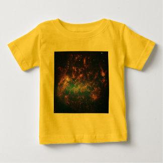 Large Magellanic Cloud - Galaxy and Stars Baby T-Shirt