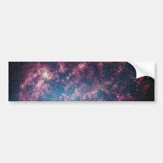 Large Magellanic Cloud - Galaxy and Stars Bumper Sticker