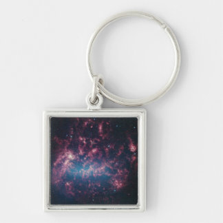 Large Magellanic Cloud - Galaxy and Stars Keychain