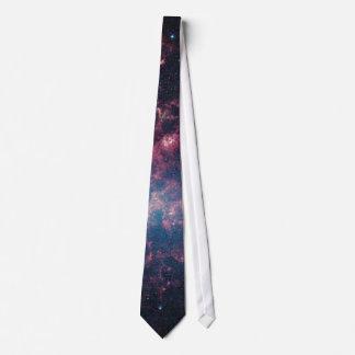 Large Magellanic Cloud - Galaxy and Stars Tie