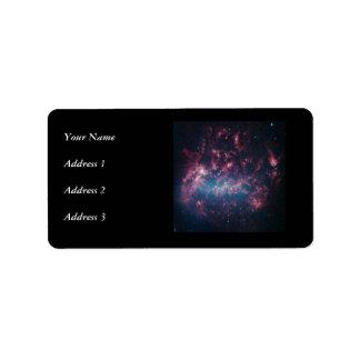 Large Magellanic Cloud Personalized Address Label