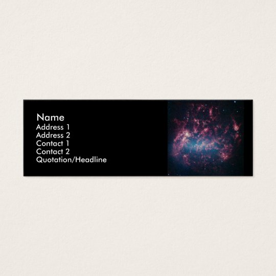 Large Magellanic Cloud Mini Business Card