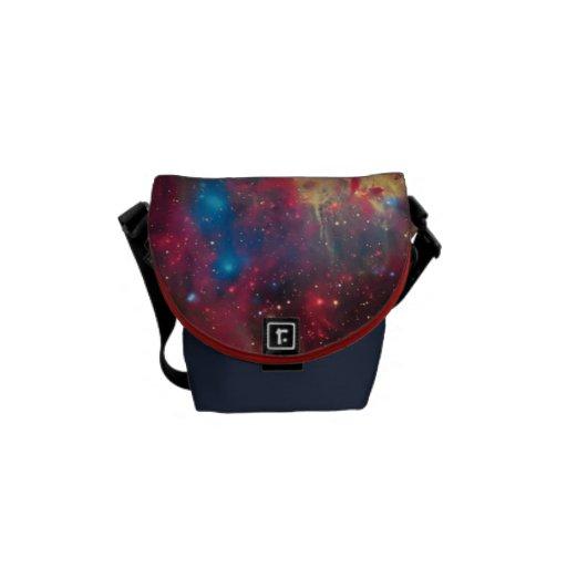 Large Magellanic Cloud Superbubble - awesome Messenger Bag