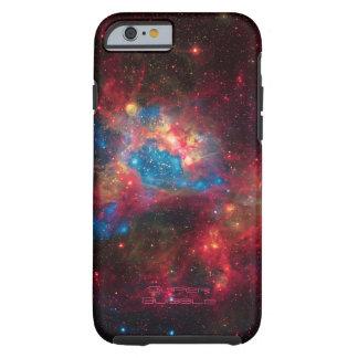 Large Magellanic Cloud Superbubble in nebula N44 Tough iPhone 6 Case