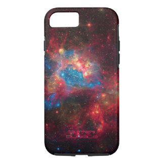Large Magellanic Cloud Superbubble in nebula N44 iPhone 8/7 Case