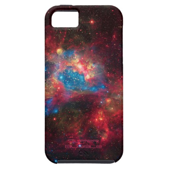 Large Magellanic Cloud Superbubble in nebula N44 iPhone SE/5/5s Case