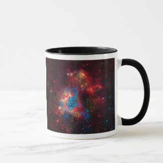 Large Magellanic Cloud Superbubble in Nebula N44 Mug