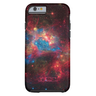 Large Magellanic Cloud Superbubble in nebula N44 Tough iPhone 6 Case