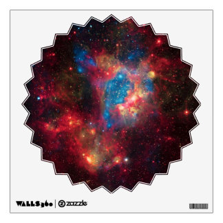 Large Magellanic Cloud Superbubble in Nebula N44 Wall Stickers