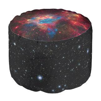 Large Magellanic Cloud Superbubble space picture Round Pouf