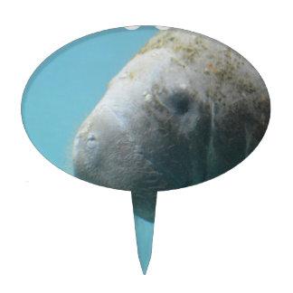 Large Manatee Underwater Cake Topper