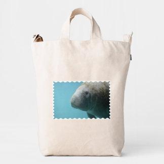 Large Manatee Underwater Duck Bag