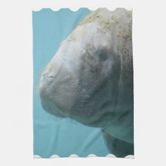 Large Manatee Underwater Hand Towel