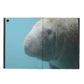 Large Manatee Underwater iPad Air Covers