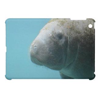 Large Manatee Underwater iPad Mini Cover