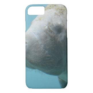 Large Manatee Underwater iPhone 7 Case