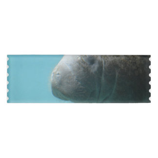Large Manatee Underwater Name Tag