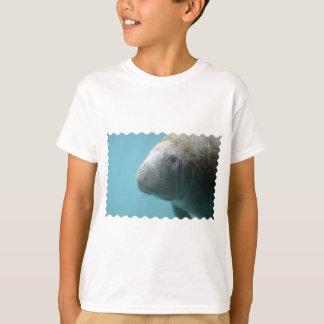 Large Manatee Underwater T-Shirt
