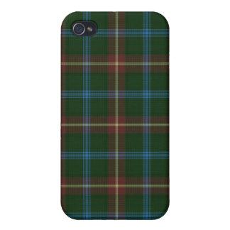 Large Manitoba tartan Case For iPhone 4