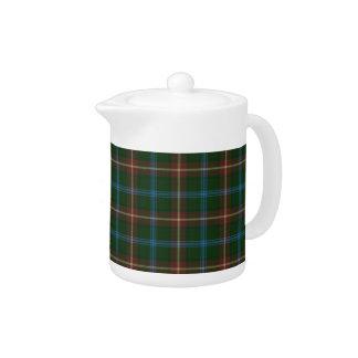 Large Manitoba tartan Teapot