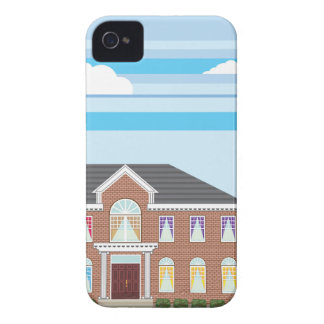 Large mansion house iPhone 4 Case-Mate case