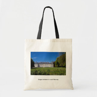 Large mansion in rural Norway Budget Tote Bag